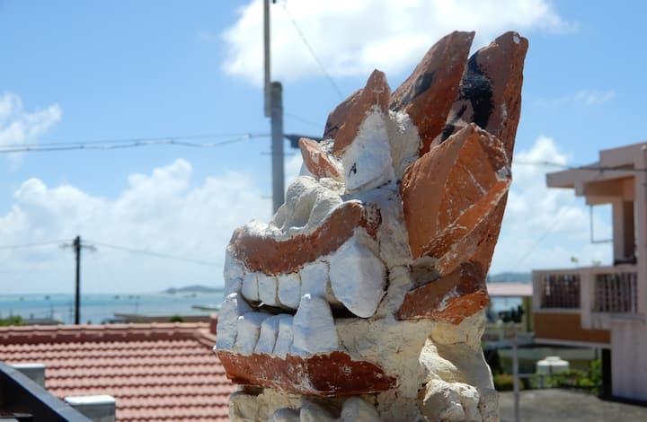 オーシャンビュー/沖縄離島の瓦屋根ヴィラ/最高のロケーションでゆったり過ごしませんか?
