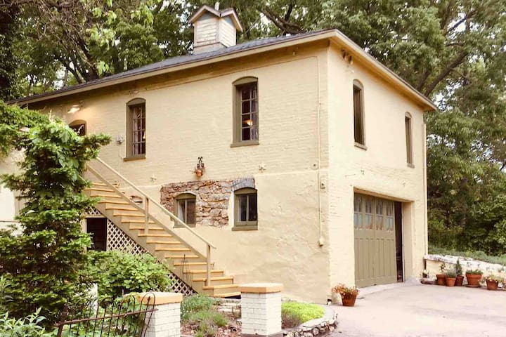 Historic Carriage House at the Henry Krug Estate