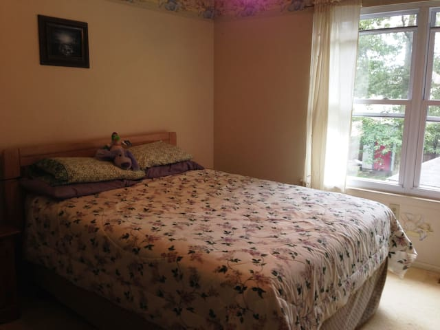 Queen Size bedroom for short stays - Somers Point - Reihenhaus