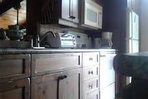 Kitchen work space 2