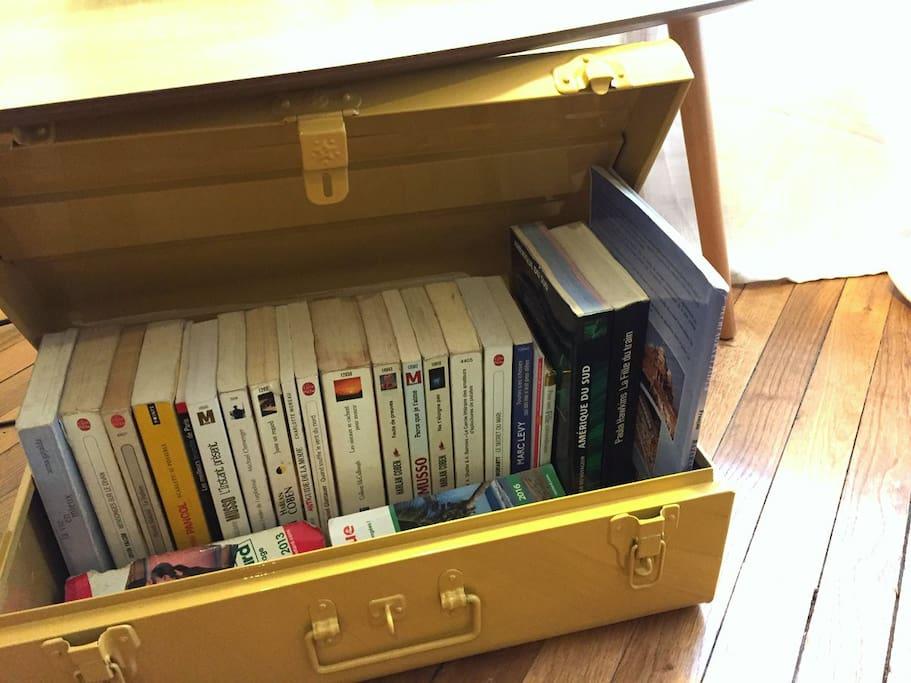 Faites une pause dans notre mini-bibliothèque