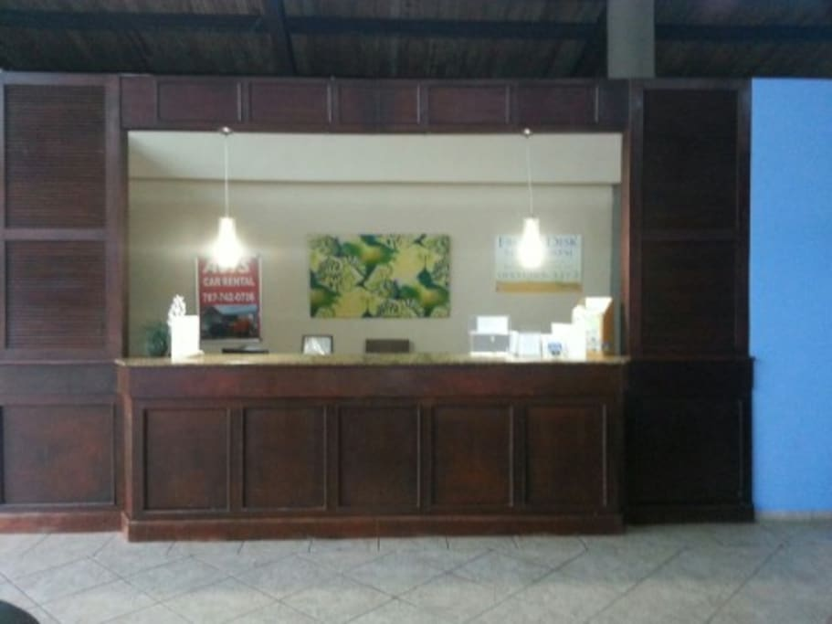 Front desk to assist you in your long term stay.