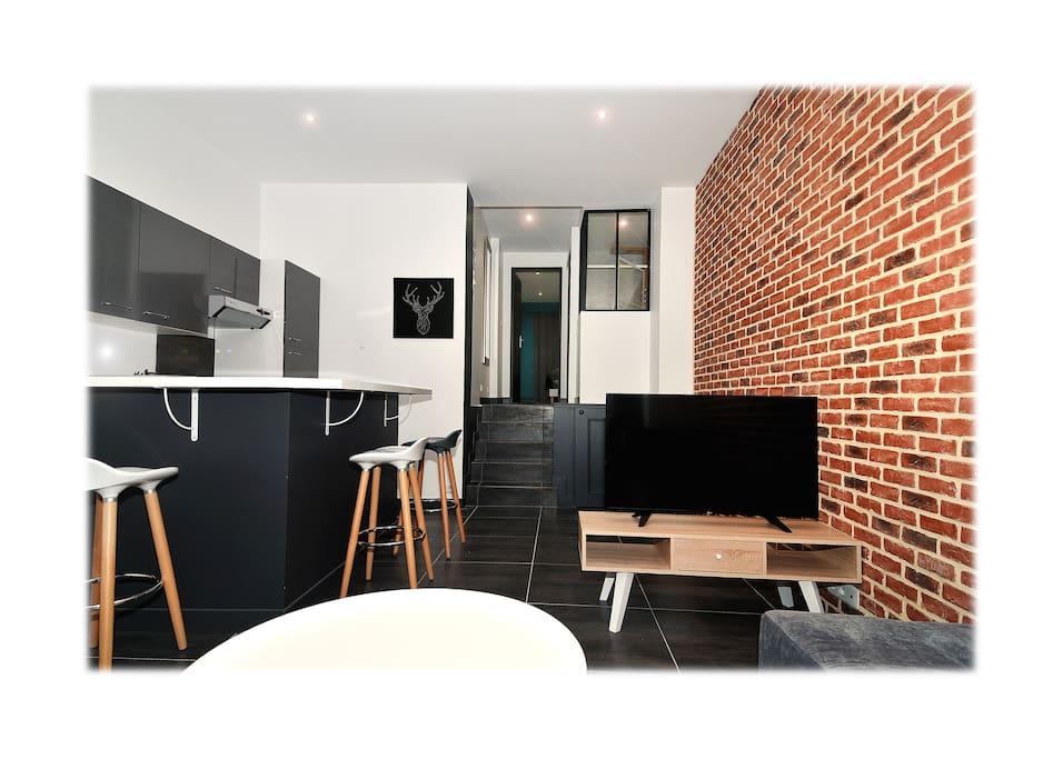 dormir au havre casino wifi fibre appartements louer le havre normandie france. Black Bedroom Furniture Sets. Home Design Ideas