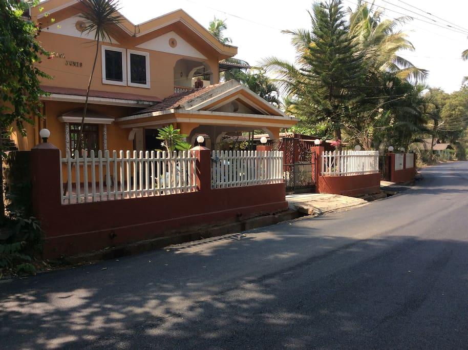 Casa Jumis is set in a quiet rural location