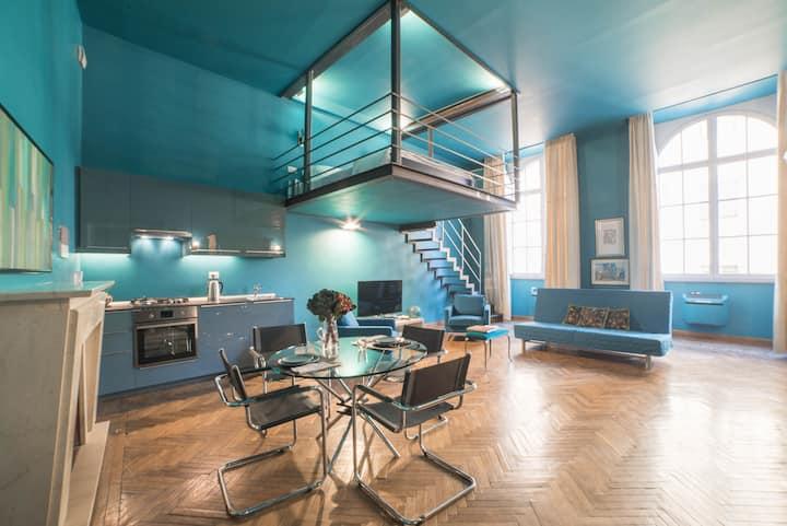 Pontevecchio, luxury loft Vasari