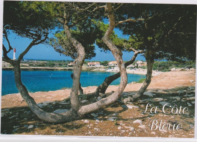 appartement dans calanque cote bleu - Martigues - Talo