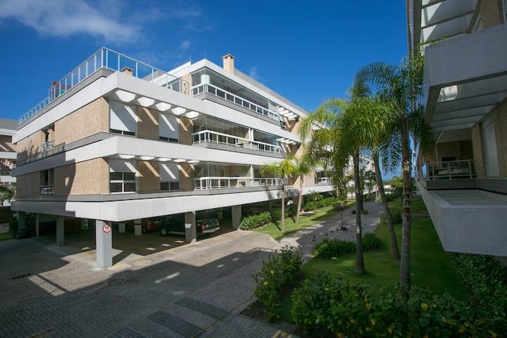Lindo apartamento de frente para o Mar - Campeche