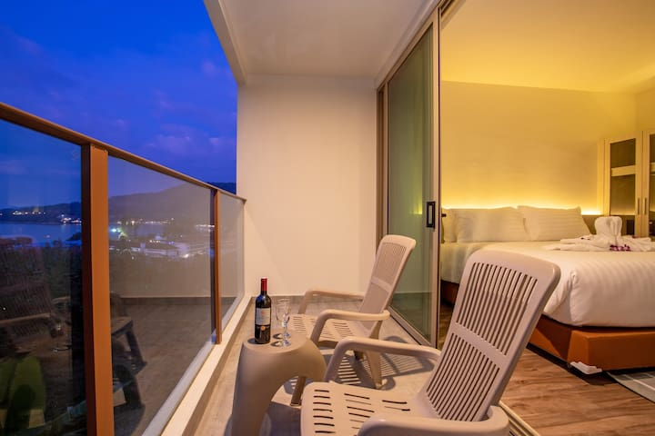 SEAVIEW 1-room Condo⥅Refurbished⥆300m Kamala Beach