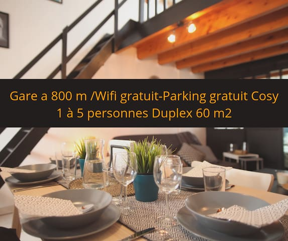 ★ DUPLEX VAUBAN ★ PARKING ★ CALME