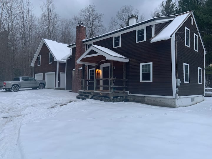 Large Traditional Mad River Valley Ski House