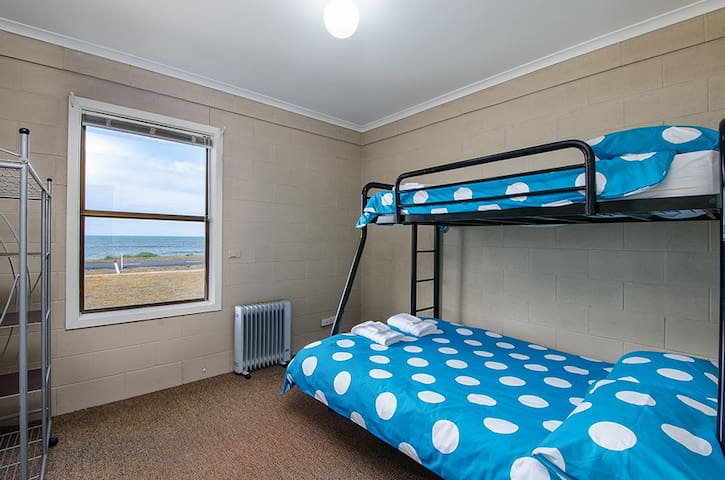 One of the two down stairs bedrooms yes again sea views