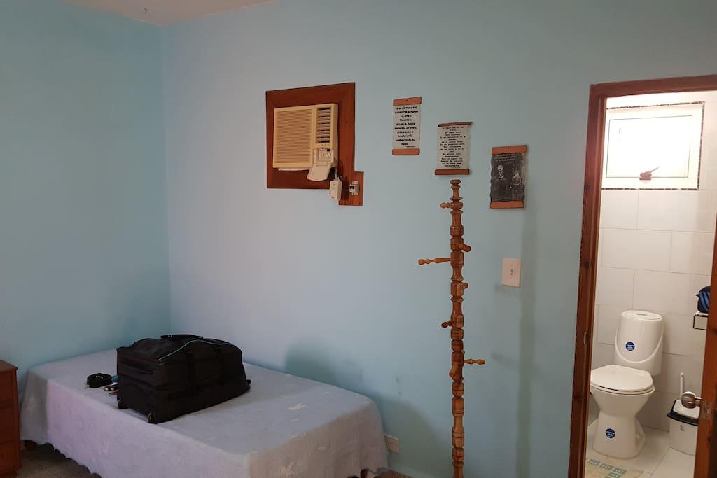 habitacion 2 camas individuales