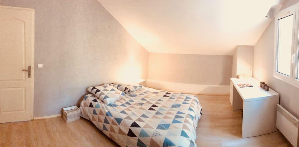 Chambre spacieuse dans colocation Fouillouse 05130