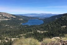 View from Donner Summit