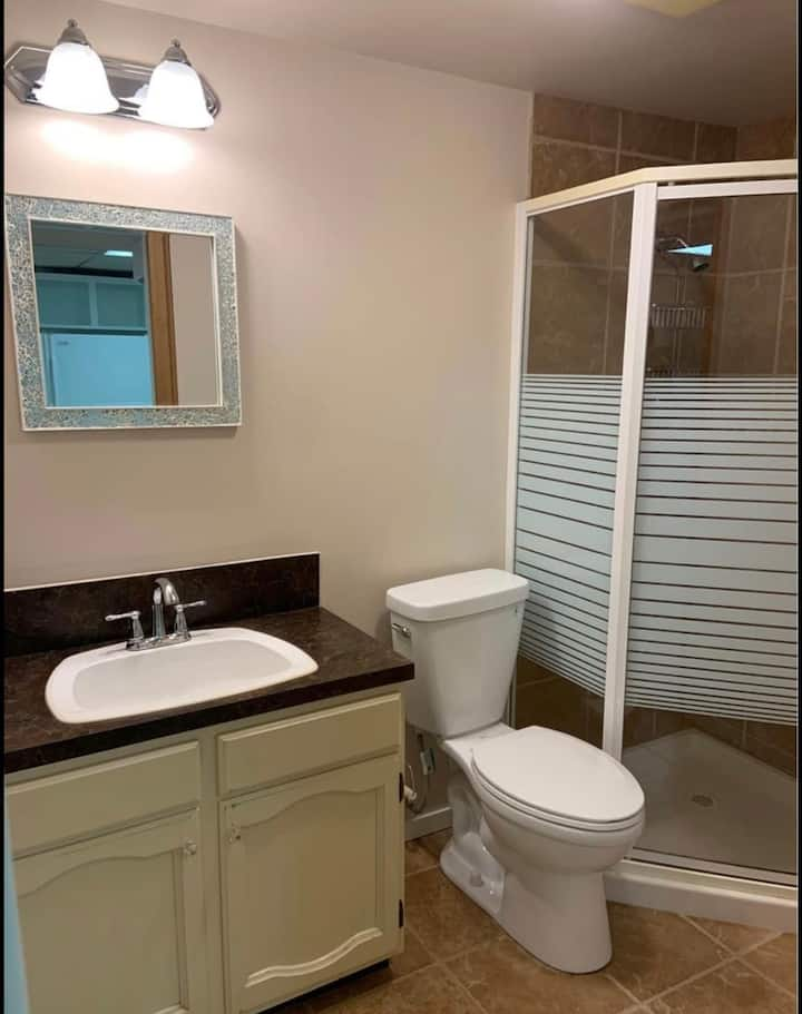 Short or Long basement room