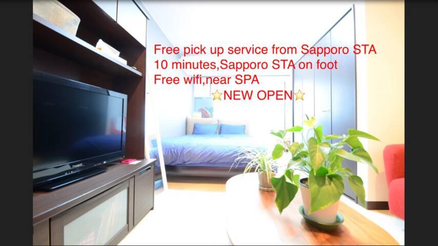 Central,cozy room,near SPA,free wifi!!