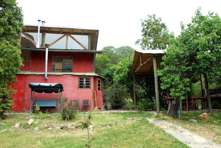 Casa en el campo en Quebrada Alvarado