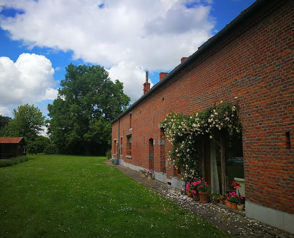 Old Traditional and familial farm.