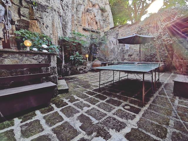 Open space & garden - ping pong e relax