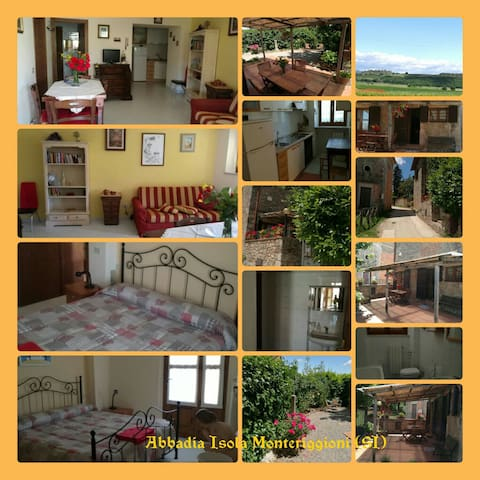 Casa sulla Francigena - Abbadia Isola (Monteriggioni)