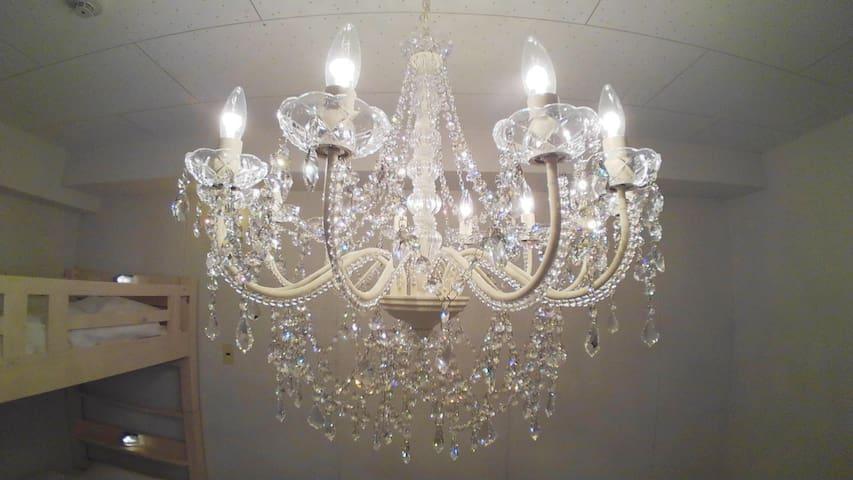 Swarovski Crystal 12 Light Chandelier