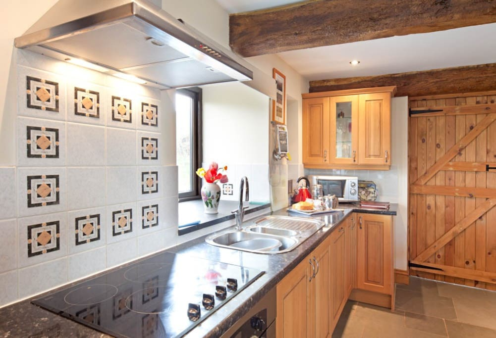 Welcoming kitchen