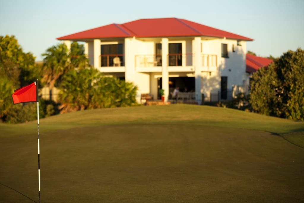 The Golfer's Lodge - View from the 9th Green