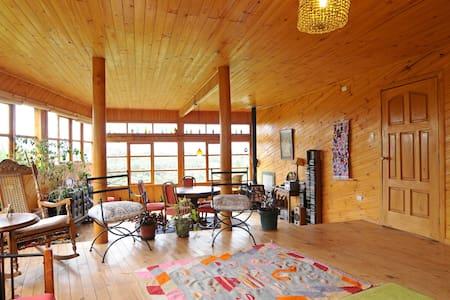 Casa Pindal, encanto de bosque y colibríes, Chiloe - Puqueldón