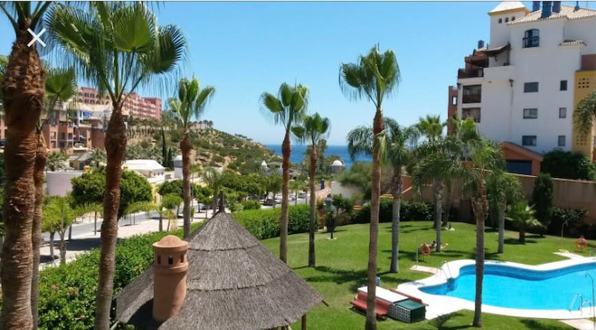 Junto al mar con piscina - Velilla-Taramay - Wohnung