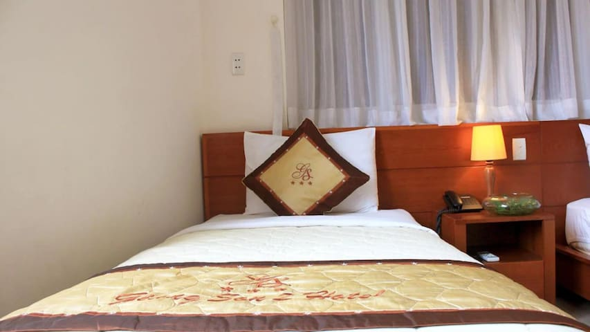 Double clean and budget room Pham Ngu Lao Street