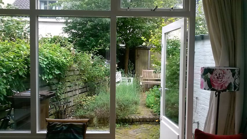 view to back garden