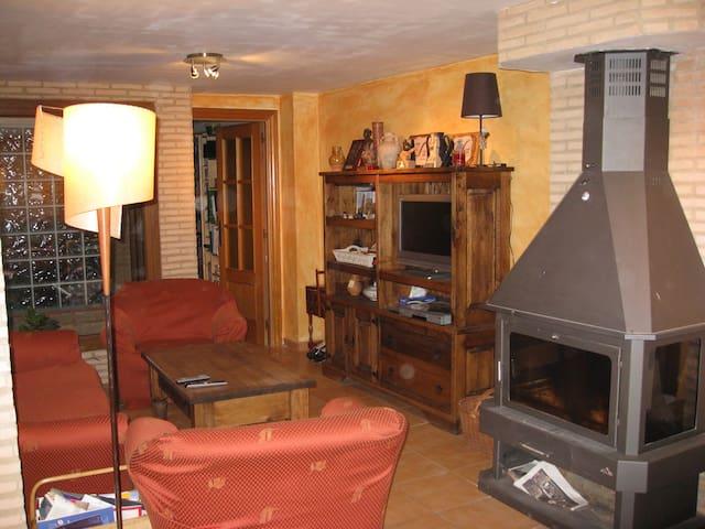 Apartamento acogedor y equipado, cerca de Zaragoza