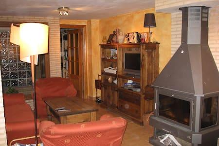 Apartamento acogedor y equipado, cerca de Zaragoza - Épila