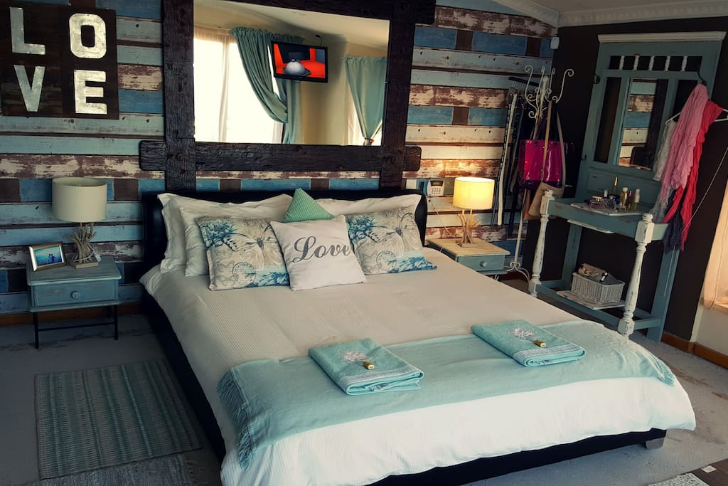 The room - rustic, spacious and neat