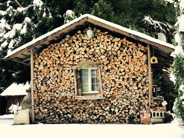 Private cabin in Paradise Valley - Brackendale  - Kabin