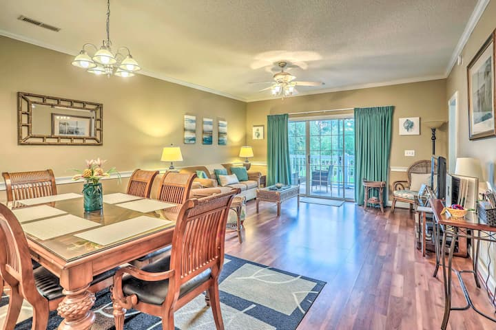 NEW! Charming Myrtle Beach Condo at Magnolia Place