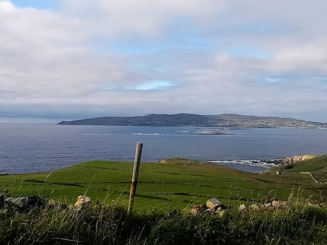 View of Arranmore island from Crohy