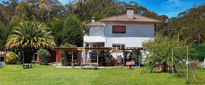 Casa individual a 100 metros de la playa