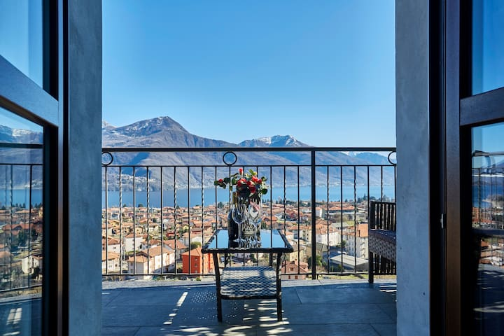 """Venere Apartment"" Lake Como Panoramic View"