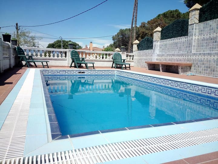Villa with 6 bedrooms in El Mas Móra, with wonderful mountain view, private pool, furnished terrace - 7 km from the beach