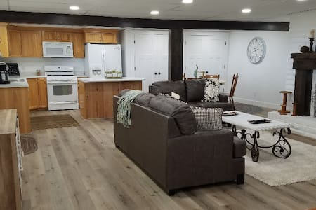 Farmhouse style basement apt