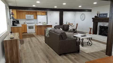 Farmhouse style basement apt