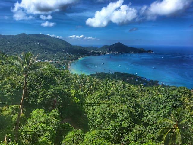 Paradise view villa - amazing seaview - free taxi - Ko Tao - Casa de camp