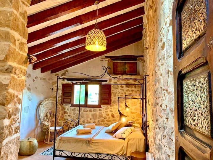 Casa rural con encanto en el valle de Olba