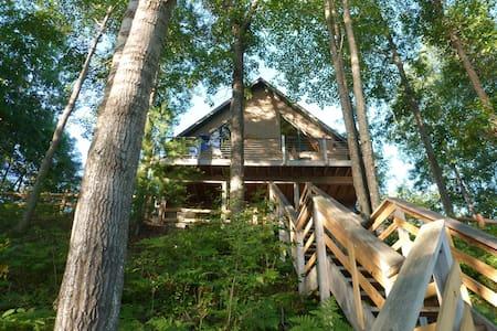 Elliott's Lakefront Tree House - Alger - Chalé