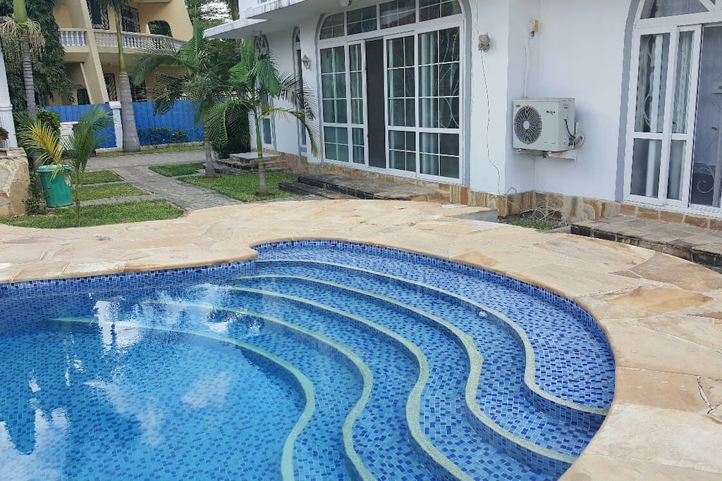 You will have access to the swimming pool