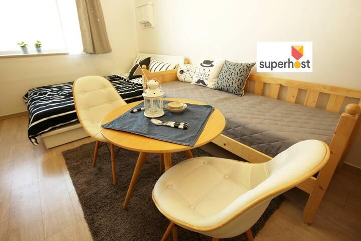 4beds/ Free potable wifi/ Seoul Dongdaemun - Dongdaemun-gu - Apartment