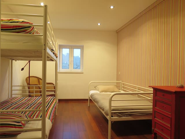 Fun room (lower floor)