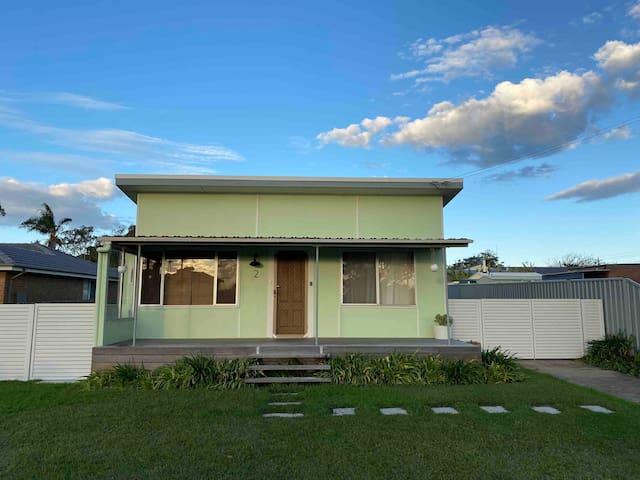 Fully renovated retro beach shack