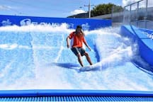 Florida wave pool 100 metres walk from resort